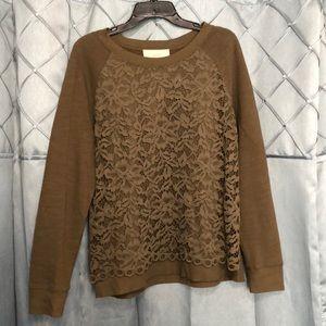 Light sweater top